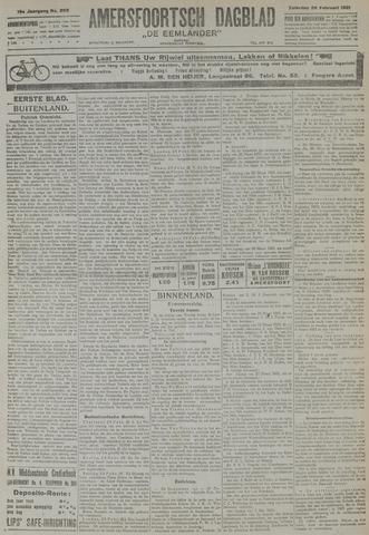 Amersfoortsch Dagblad / De Eemlander 1921-02-26