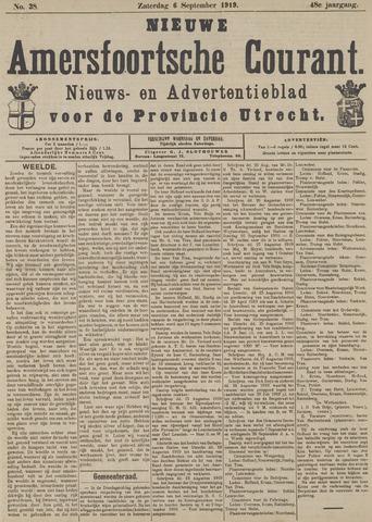 Nieuwe Amersfoortsche Courant 1919-09-06