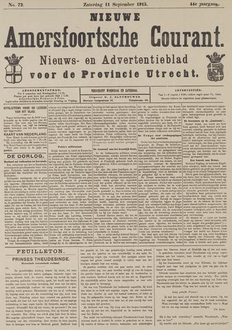 Nieuwe Amersfoortsche Courant 1915-09-11