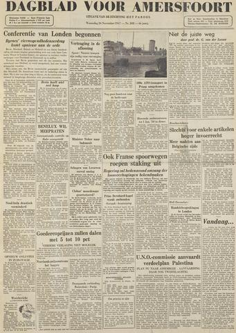 Dagblad voor Amersfoort 1947-11-26