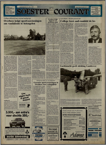 Soester Courant 1991-07-31