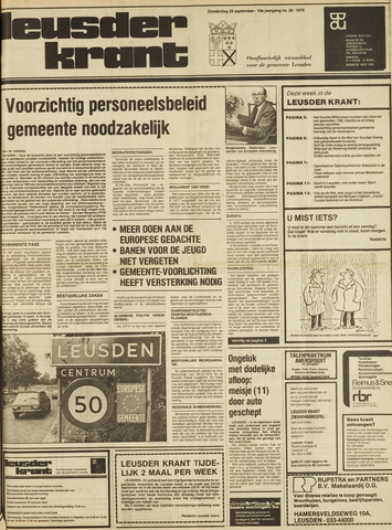 Leusder Krant 1978-09-28