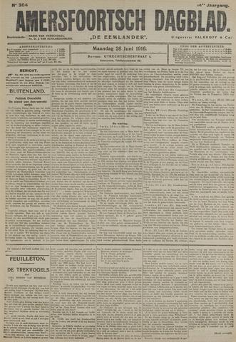 Amersfoortsch Dagblad / De Eemlander 1916-06-26