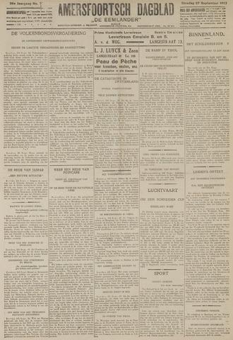 Amersfoortsch Dagblad / De Eemlander 1927-09-27