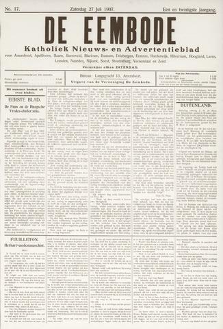 De Eembode 1907-07-27