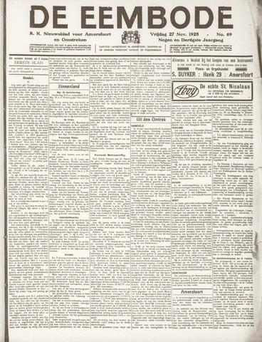 De Eembode 1925-11-27
