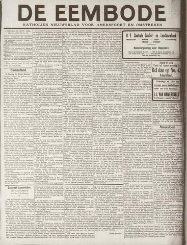 De Eembode 1921-09-23