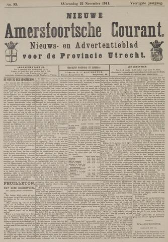 Nieuwe Amersfoortsche Courant 1911-11-22