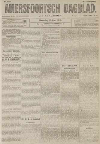 Amersfoortsch Dagblad / De Eemlander 1913-06-16
