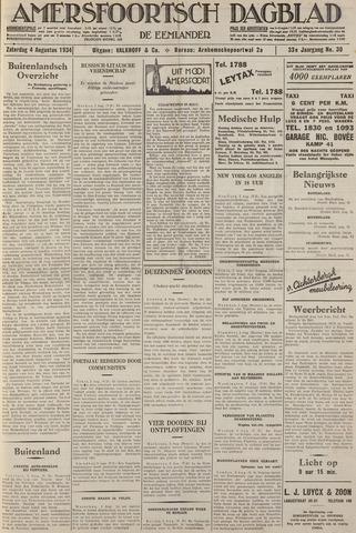 Amersfoortsch Dagblad / De Eemlander 1934-08-04