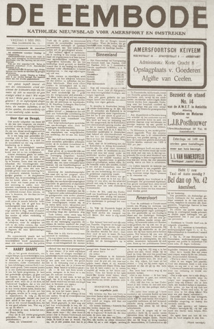 De Eembode 1921-05-06
