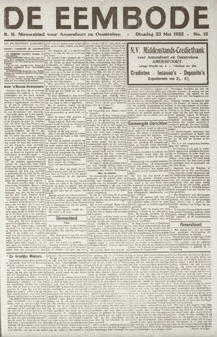 De Eembode 1922-05-23