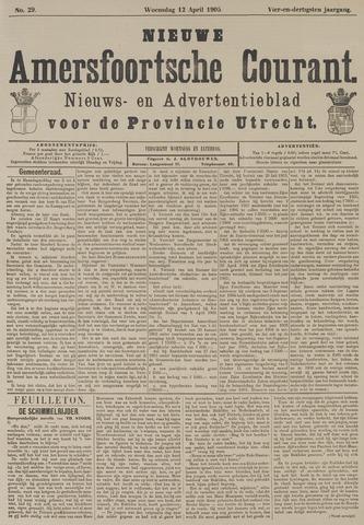 Nieuwe Amersfoortsche Courant 1905-04-12