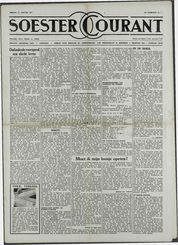 Soester Courant 1957-01-25