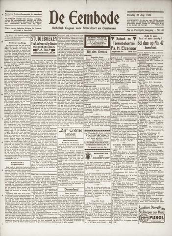 De Eembode 1932-08-23