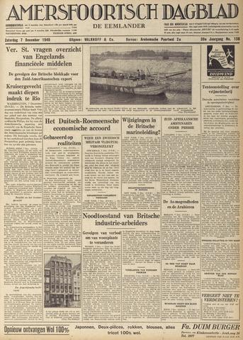 Amersfoortsch Dagblad / De Eemlander 1940-12-07