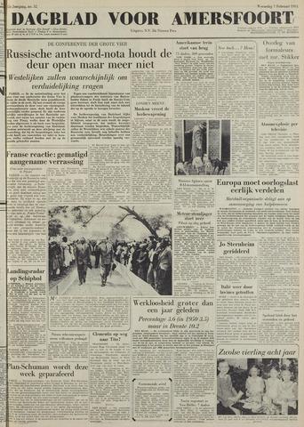 Dagblad voor Amersfoort 1951-02-07