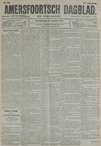 Amersfoortsch Dagblad / De Eemlander 1917-01-25