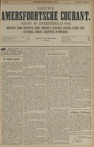 Nieuwe Amersfoortsche Courant 1884-11-29