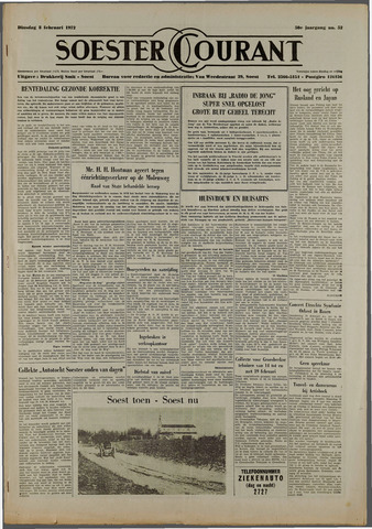 Soester Courant 1972-02-08