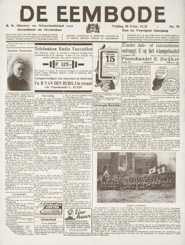 De Eembode 1928-02-10