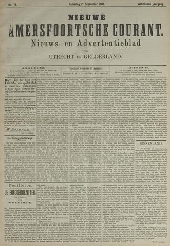 Nieuwe Amersfoortsche Courant 1889-09-21