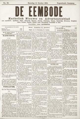 De Eembode 1905-10-21