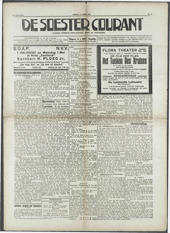 Soester Courant 1933-04-28