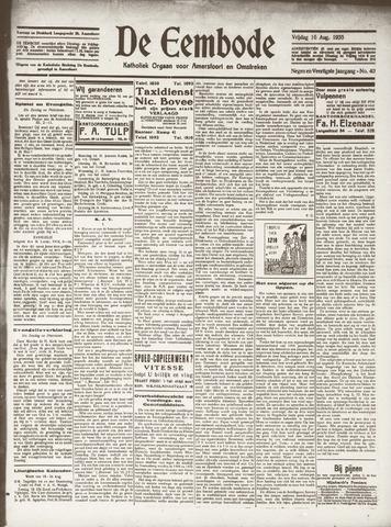 De Eembode 1935-08-16
