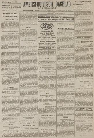 Amersfoortsch Dagblad / De Eemlander 1926-04-28