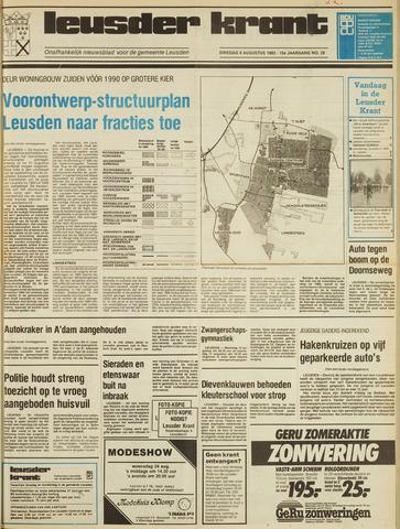 Leusder Krant 1983-08-09