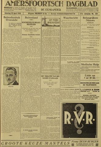 Amersfoortsch Dagblad / De Eemlander 1933-04-22