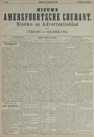 Nieuwe Amersfoortsche Courant 1891-08-15