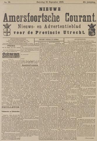 Nieuwe Amersfoortsche Courant 1912-09-21