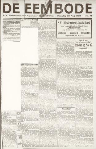 De Eembode 1922-08-22