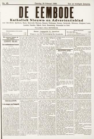 De Eembode 1908-02-29