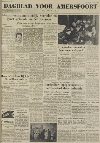 Dagblad voor Amersfoort 1950-02-11