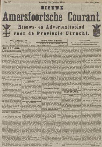 Nieuwe Amersfoortsche Courant 1916-10-28