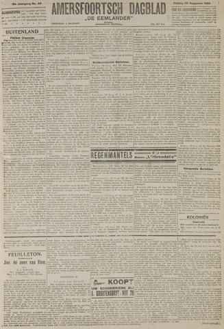 Amersfoortsch Dagblad / De Eemlander 1920-08-20
