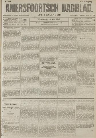 Amersfoortsch Dagblad / De Eemlander 1913-05-28