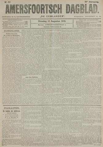 Amersfoortsch Dagblad / De Eemlander 1913-08-12