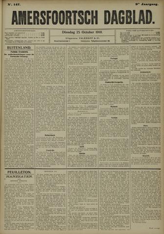 Amersfoortsch Dagblad 1910-10-25