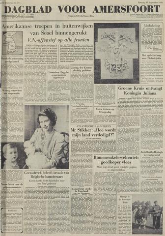 Dagblad voor Amersfoort 1950-09-16