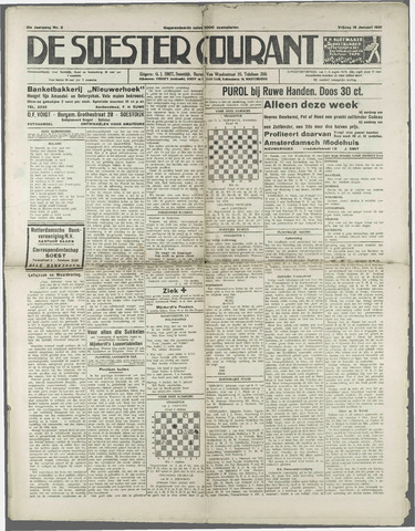 Soester Courant 1931-01-16