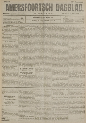Amersfoortsch Dagblad / De Eemlander 1917-04-19