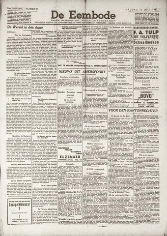De Eembode 1937-07-16