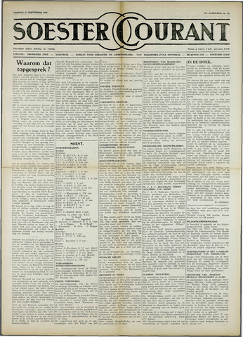 Soester Courant 1959-09-25