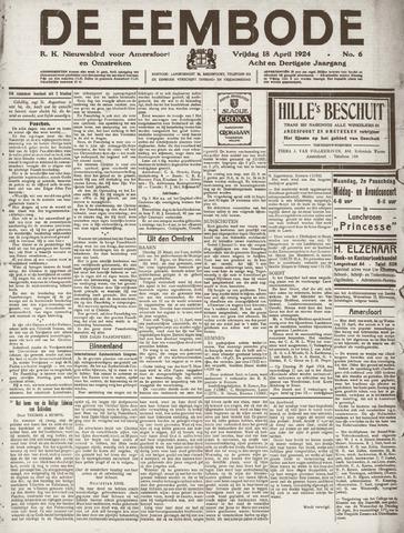 De Eembode 1924-04-18