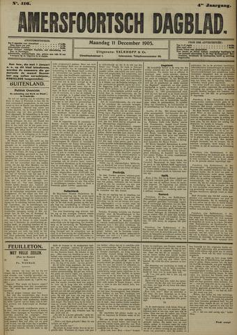 Amersfoortsch Dagblad 1905-12-11