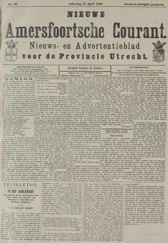 Nieuwe Amersfoortsche Courant 1908-04-25